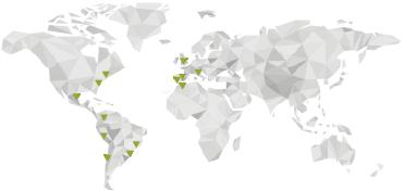 Everis - World Map