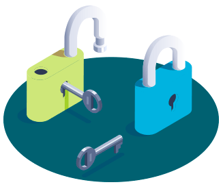 alta un secreto con la clave privada