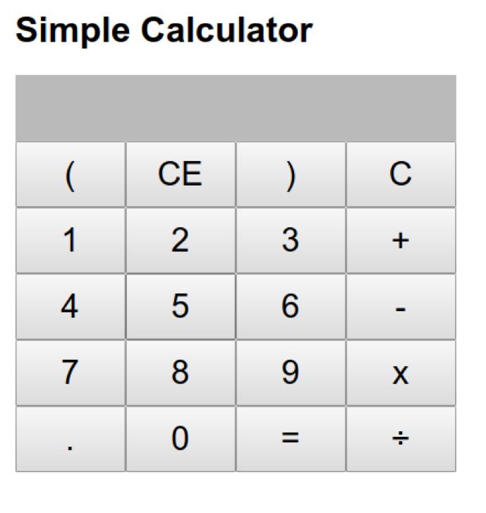 calculadora ReactJS