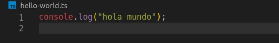 Dino soporte nativo de TypeScript