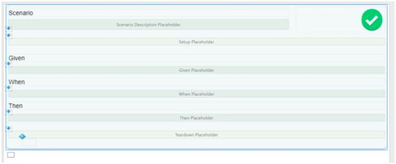 UI Screen de BDDFramework