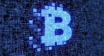 Imagen con B de Blockchain