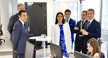 Inauguración oficina de everis en Santander