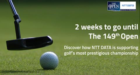 NTT DATA announces a new personalised data experience for The 149th Open