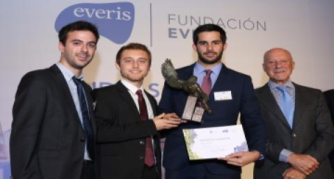 The everis foundation awards a Spanish startup's 'Hyperloop' technology...