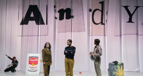 Musical sobre Andy Warhol estreia hoje no Teatro Nacional D. Maria II com o...