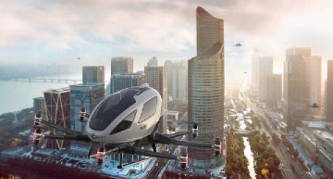 Europa pone a prueba el futuro de la  movilidad aérea urbana