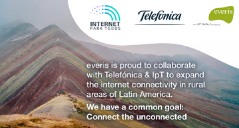 Telefónica and everis join forces with Internet Para Todos (IpT) to reduce...