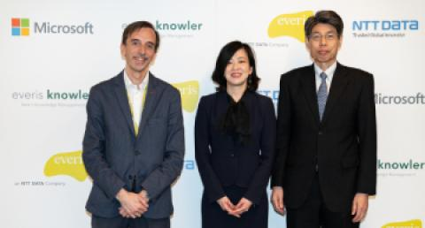 NTT DATA transforms its knowledge management together with everis, using...