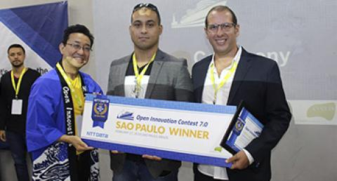Startup Dataholics vence a etapa brasileira do Open Innovation Contest, da...