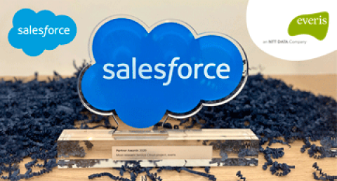 "A everis foi premiada pela Salesforce na categoria ""Most Relevant Service..."