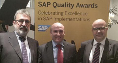 everis galardonada con Quality Awards de SAP
