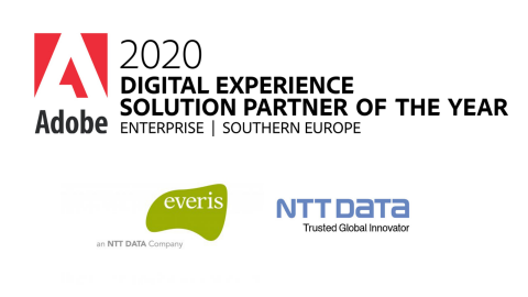 Adobe names everis 2020 Southern Europe Digital Experience Solution Partner...