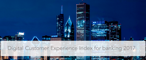 banking Digital Customer Experience Index for banking 2017
