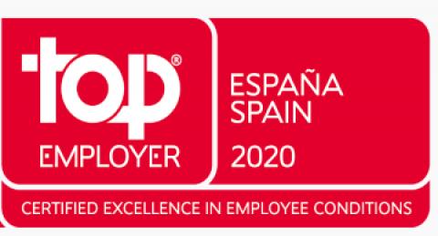 everis, certificada como Top Employer 2020
