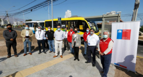 Ministra de Transportes y Telecomunicaciones de Chile visita los proyectos de...