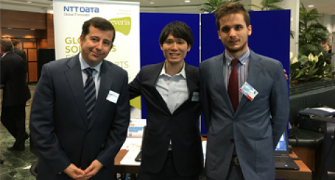 everis and NTT DATA take part in a workshop on managing air traffic of drones