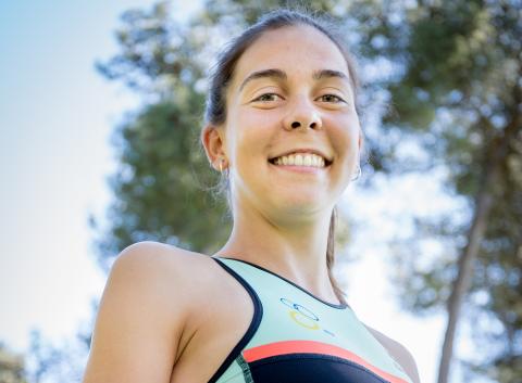 Melanie Santos mostra atitude e potencial