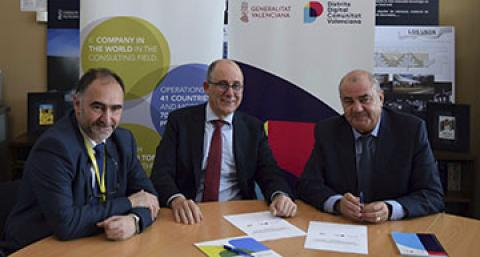 everis firma alianza con SPTCV
