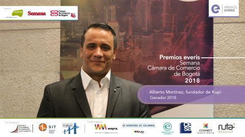 Un emprendimiento de Tuluá ganó los Premios everis Colombia 2018