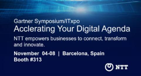 everis joins NTT as sponsors of Gartner Symposium ITxpo event