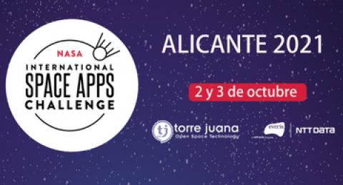 Space Apps Challenge 2021. Vuelve el reto de la NASA a Alicante de la mano de...