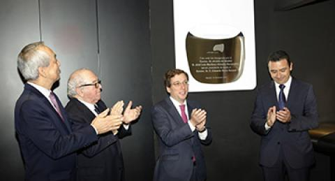 Inauguración de la sede global de everis en Madrid
