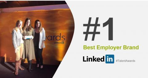 LINKEDIN TALENT AWARDS 2019 | Best Employer Brand