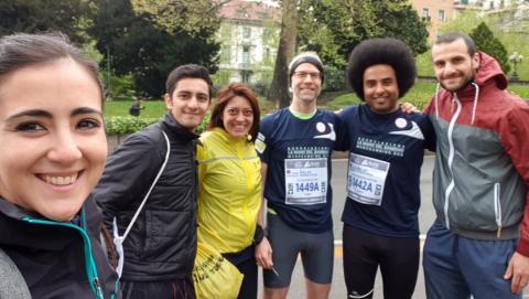everis corre per il sociale |  07.04 XXV Maratona Internazionale Di Roma e...