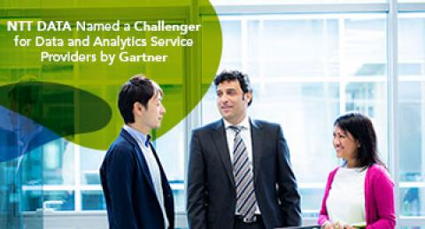 NTT DATA Named a Challenger for Data and Analytics Service Providers by Gartner