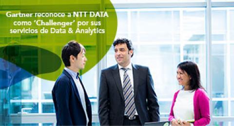 "Gartner reconoce a NTT DATA como ""Challenger"" por sus servicios de  Data &..."