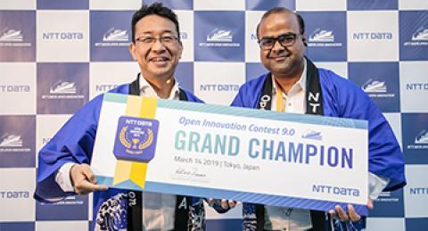 NTT DATA nomeia FlytBase como vencedora do Ninth Open Innovation Contest