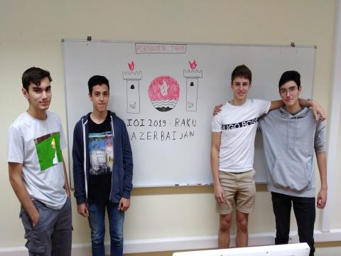 A everis apoia as Olimpíadas Nacionais de Informática e os quatro jovens...