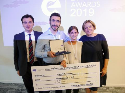 ISAAC vince gli everis Italia Awards '19