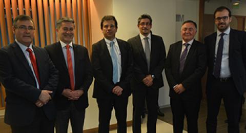 Subsecretario de Hacienda visita el Biobío Health Innovation Center de everis...