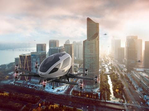 Europa testa o futuro da mobilidade aérea urbana