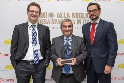 """everis Italia premiata come """"Migliore azienda spagnola in Italia"""""""