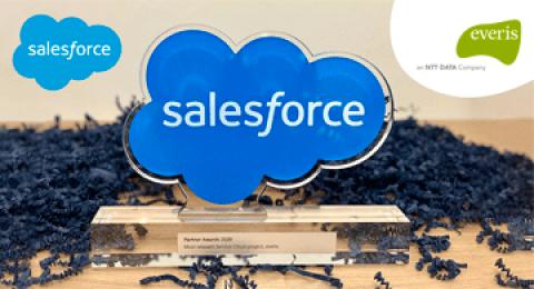 "A everis foi premiada pela Salesforce na categoria ""Most Relevant Service..."