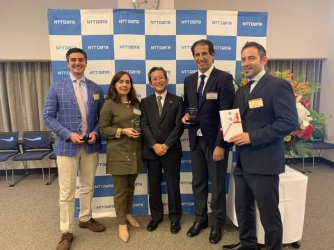 everis vincitrice di 3 PREMI agli NTT DATA Awards 2019