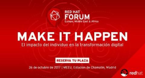 everis patrocina el Red Hat Forum España 2017 en Madrid