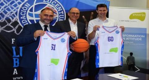 everis y la Fundación Lucentum firman un acuerdo para potenciar el baloncesto...