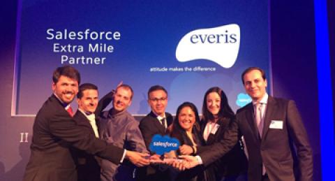 everis, premio Extra Mile Partner en la entrega de galardones para partners...