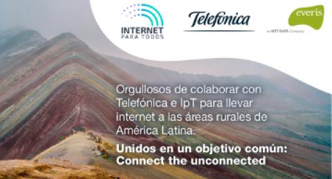 Telefónica y everis colaboran con Internet Para Todos (IpT) para reducir la...