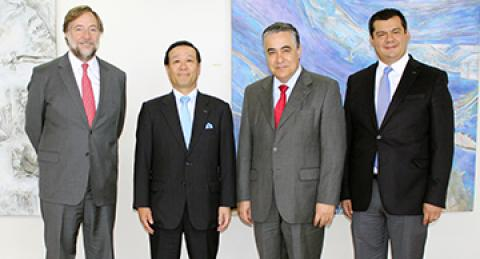 CEO de NTT DATA visita everis Chile