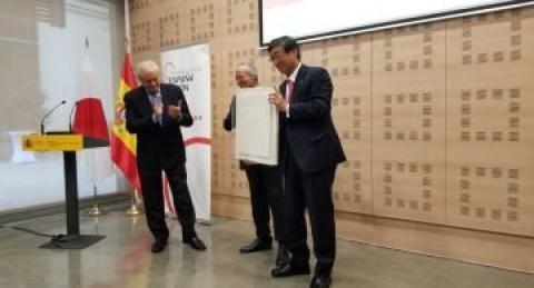 NTT DATA premiada por la Fundación Consejo España Japón