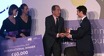 Juan Abascal, premio Fundacion everis 2019