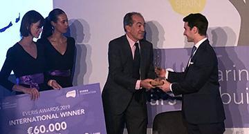 Juan Abascal, premio Fundacion everis 2019