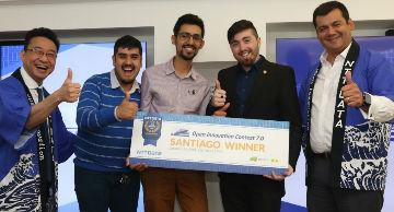 Emprendedores reciben premio Open Innnovation Contest