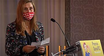 Sandra Sans, premio DonaTIC 2020