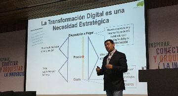 Mauricio Ríos expone en seminario de transformación digital